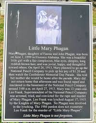 Plaque at Grave of Little Mary